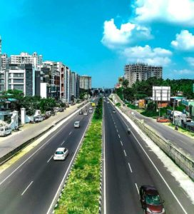 Residential segment around Trivandrum bypass (Picture credits: Rahul VR)